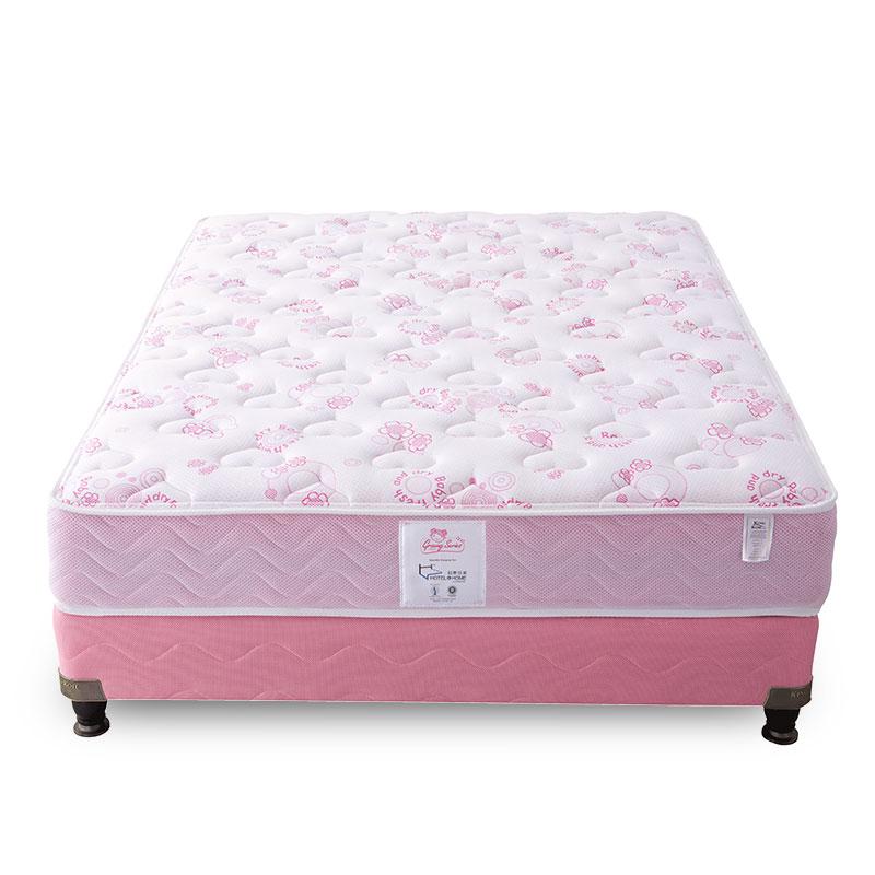金可儿乳胶床垫儿童宝宝1.2米1.5米弹簧席梦思小甜心