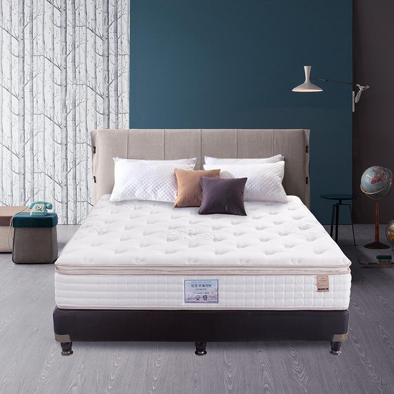 金可儿乳胶床垫1.8m弹簧席梦思世茂茂悦酒店