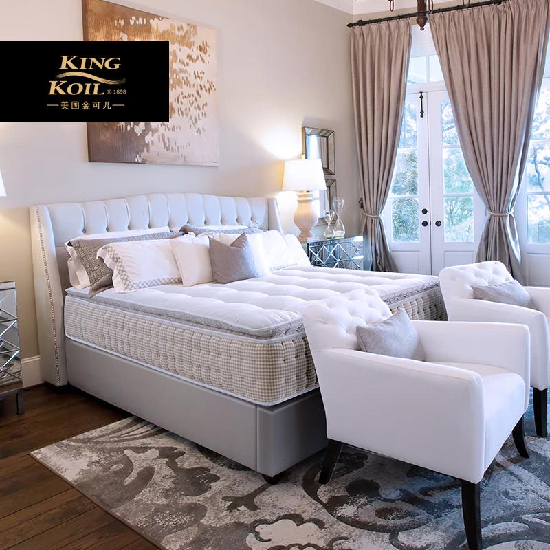 金可儿床垫豪华酒店乳胶1.5m1.8m双人弹簧席梦思风采L
