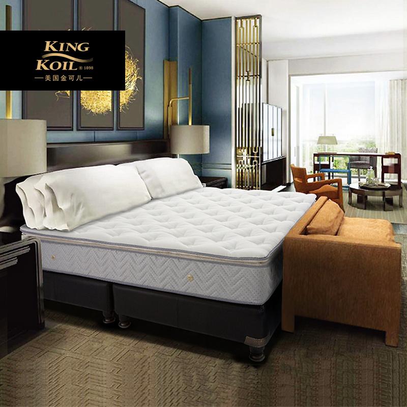 金可儿乳胶床垫希尔顿酒店超柔海绵深睡缘梦