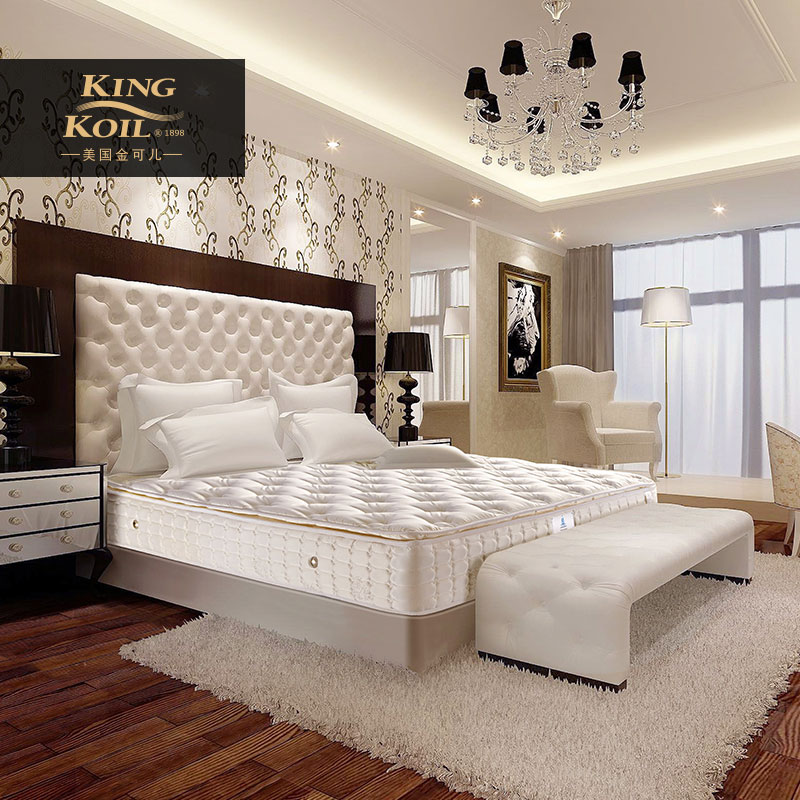 美国金可儿乳胶床垫马来西亚威斯汀酒店偏软兰卡威